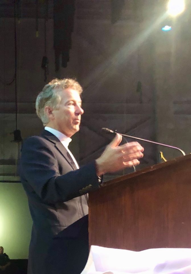 Kentucky U.S. Senator Rand Paul